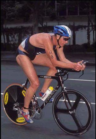 Conrad Stoltz 2001 Chicago MrsT borrowed bike