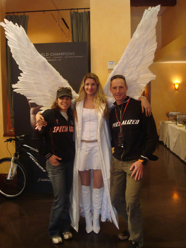 The Specialized Angel with Rebecca and Conrad Stoltz