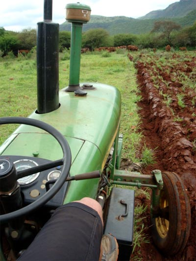 Conrad Stoltz tractor