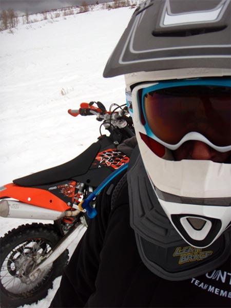 Ice Head Conrad Stoltz enduro bike