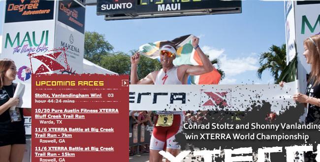 Conrad Stoltz XTERRAplanet.com cover