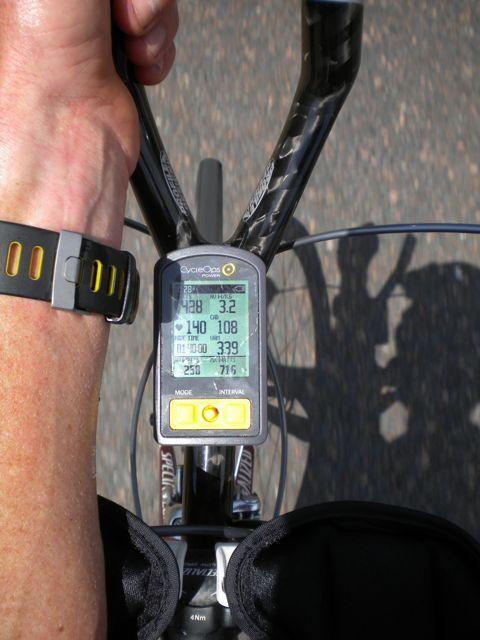 Conrad Stoltz South Africa training Cyclops Power Tap