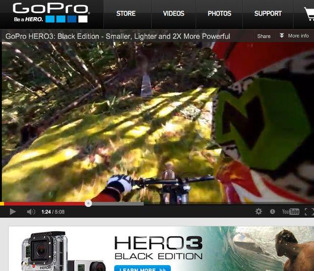Conrad Stoltz GoPro Hero 3