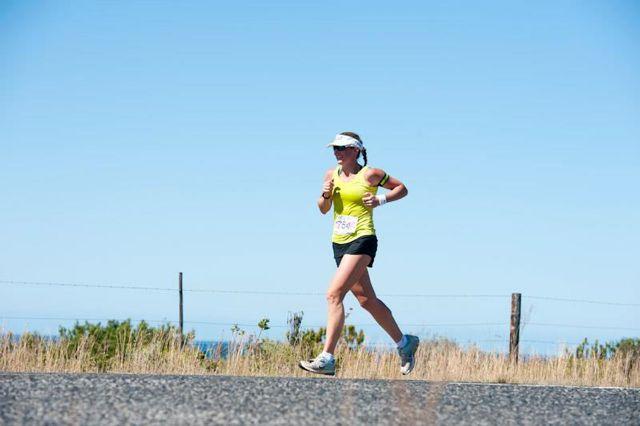 Liezel Stoltz Total Sports Challenge 2013 road run