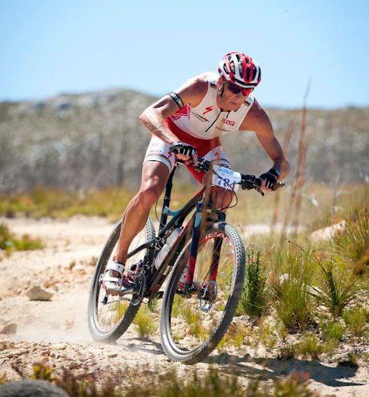 conrad Stoltz totalsports challenge 2013 Mountain bike, Specialized Sworks Epic 29er