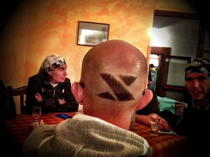 Conrad Stoltz Caveman XTERRA Italy Scanno XTERRA hair