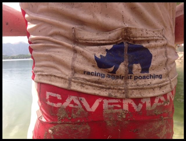 Conrad Stoltz XTERRA Italy Scanno Caveman Racing against rhino poaching Mutual safes