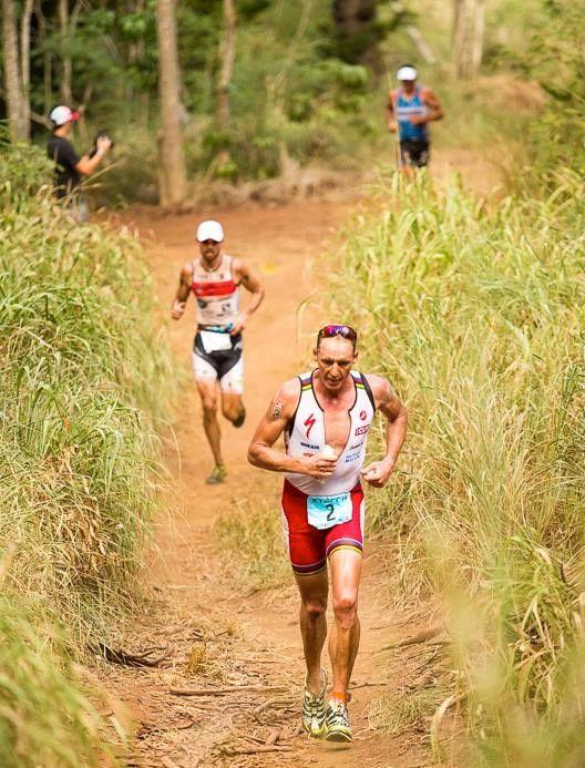 Conrad Stoltz Caveman XTERRA Worlds Kapalua Trail Run Hoka One One Rapa Nui