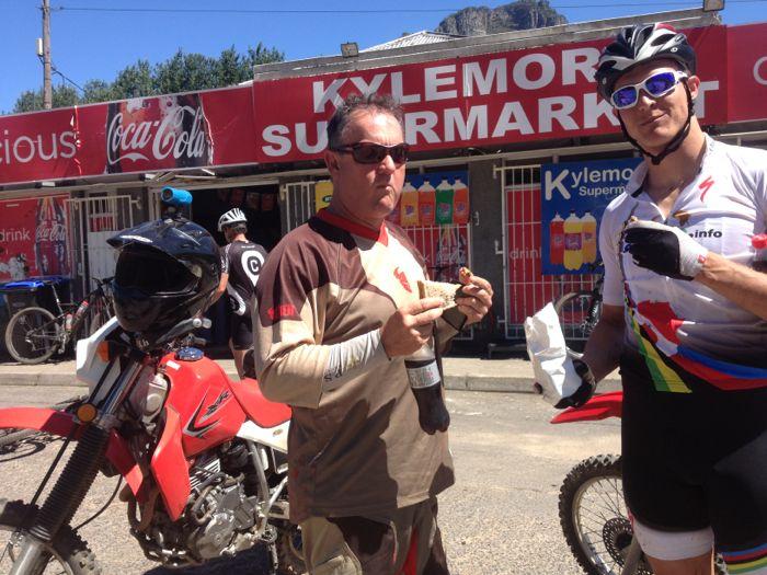 Conrad Stoltz Origen of trails route scout Kylemore market