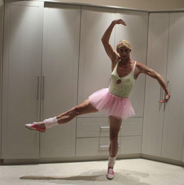 Conrad Stoltz Caveman Ballerina