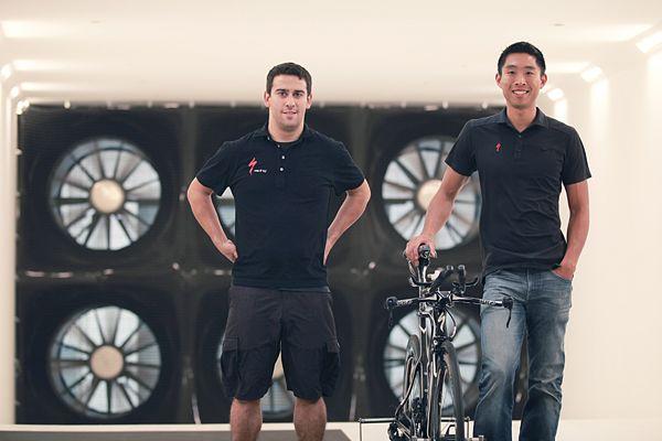 Mark Cote Chris Yu Specialized Win Tunnel Conrad Stoltz