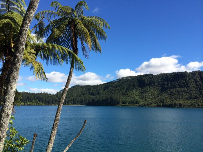 Conrad Stoltz XTERRA Rotorua Blue lake