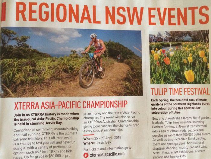 Conrad Stoltz Caveman XTERRA Asia Pacific Champs Australia Specialized Suunto Hoka Events Magazine
