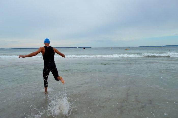 Conrad Stoltz Caveman XTERRA Asia Pacific Champs Australia Swim