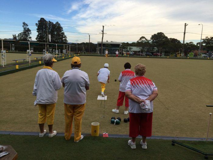 Conrad Stoltz Caveman XTERRA Asia Pacific Champs Australia lawn bowls