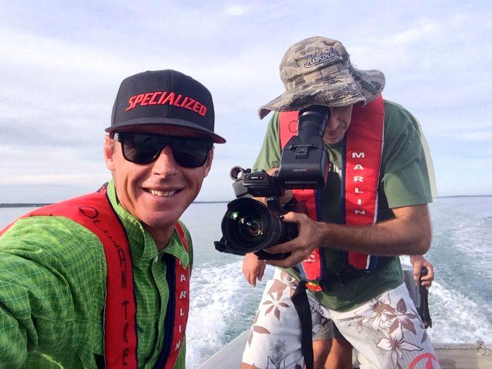 Conrad Stoltz Caveman XTERRA Asia Pacific Champs Australia snorkeling Jervis bay