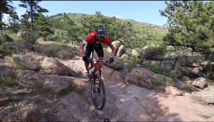 Conrad Stoltz Caveman Specialized Epic Sworks 29er Video Technical single track Hall Ranch