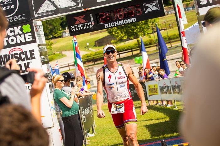 Conrad Stoltz Caveman XTERRA Richmond Luckstone RVA Finish