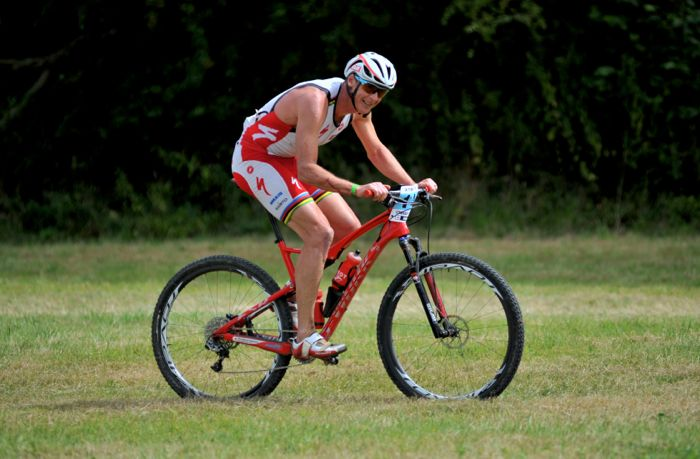 Conrad Stoltz Caveman XTERRA UK 2014 Specialized Sworks Epic