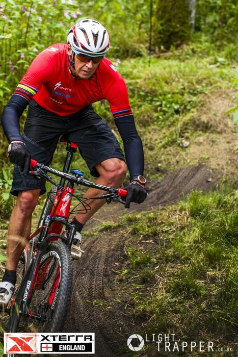 Conrad Stoltz Caveman XTERRA UK Light Trapper Carel Du Plessis Suunto Ambit Oakley Radar XL Specialized Epic 29er