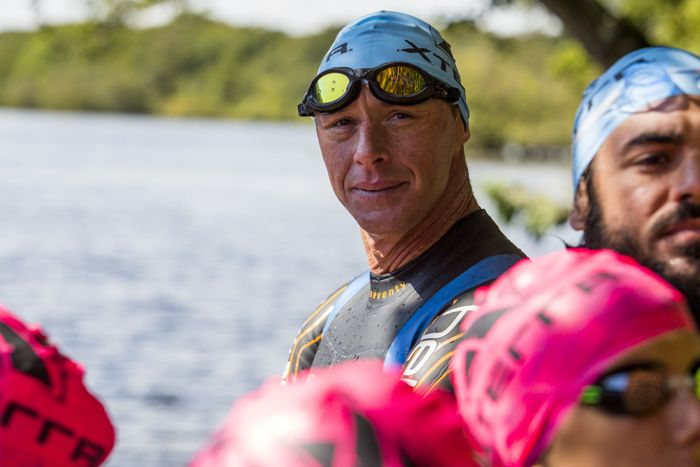 Conrad Stoltz Caveman XTERRA UK swim start blueseventy