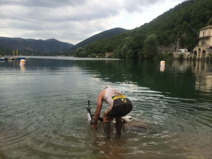 conrad stoltz Xterra Italy 2014 bike wash