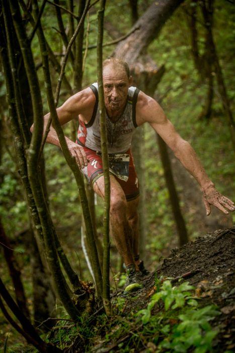 Conrad Stoltz Caveman XTERRA Denmark Specialized, Suunto, Hoka, ClifBar muddy hill 1