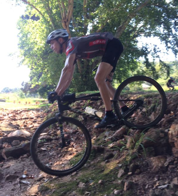 Conrad Stoltz Caveman Skills Clinic Robrecht drops in