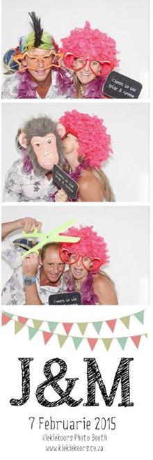 Conrad Stoltz Liezel Stoltz Jan & Marlize wedding photobooth kiekiekoors