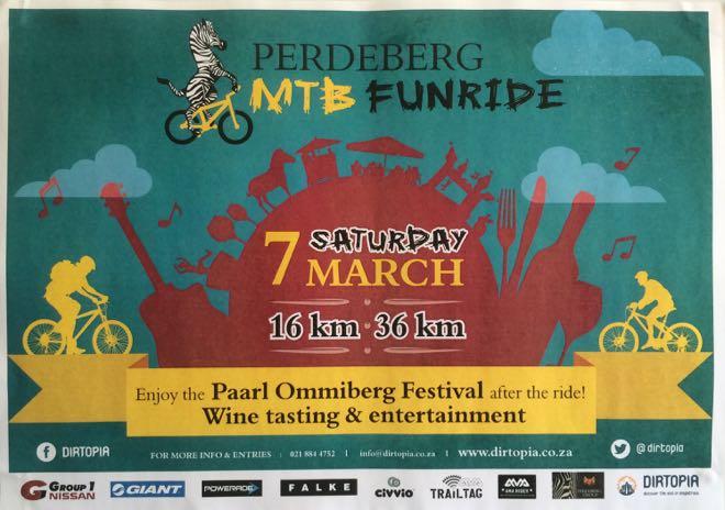 Perdeberg MTB Funride, Ommiberg Festival, Conrad Stoltz