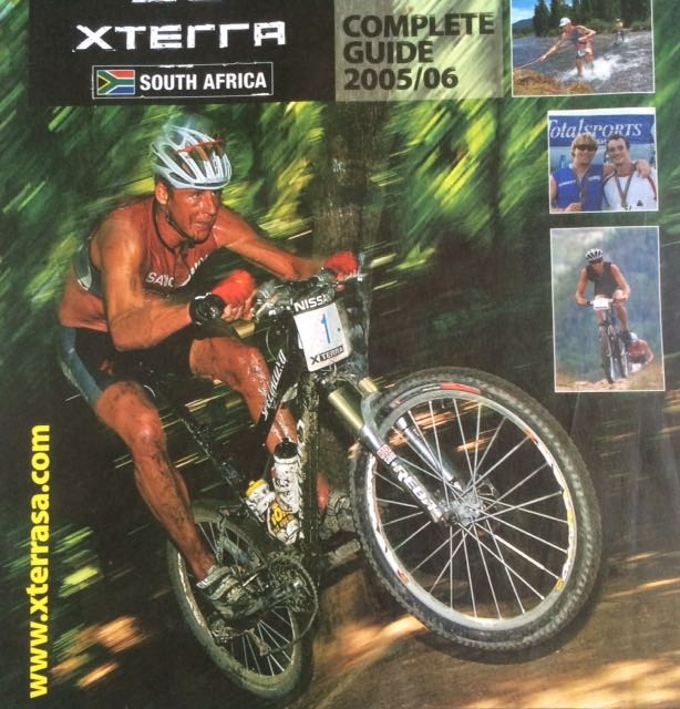 Conrad Stoltz jumps MTB XTERRA Milwaukee