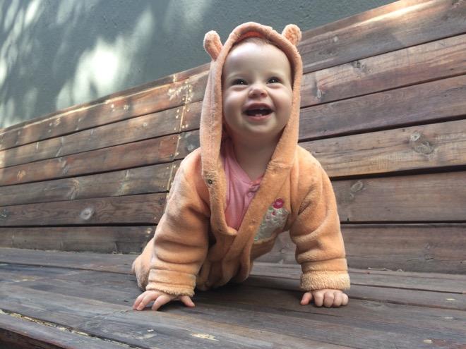 Zena Stoltz 10 months