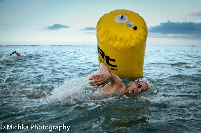 Conrad Stoltz Xterra Reunion swim